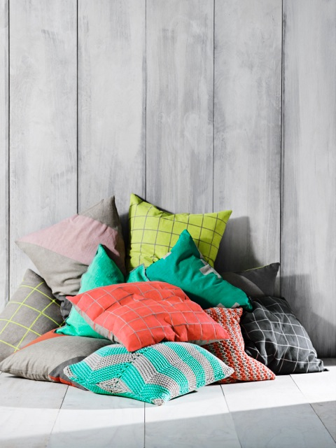 Vibrant Cushions For Spring