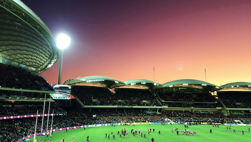 Adelaide Oval in all its glory - snapped by Glam's very own, Kelly Noble.
