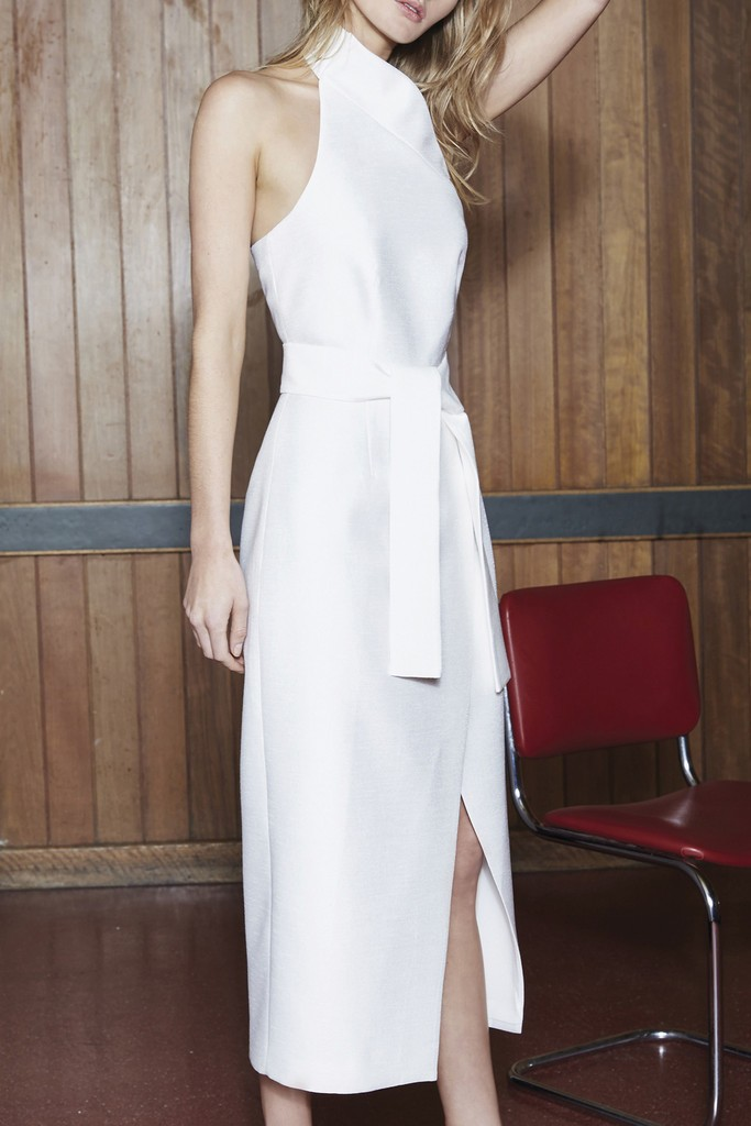 C/MEO Stand Still Dress Ivory